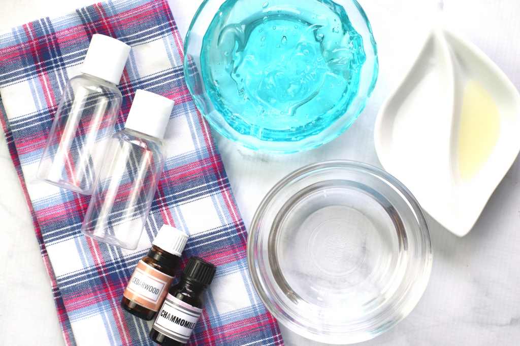 How To Make A Natural Kid Friendly Gel Hand Sanitizer Recipe Supplies