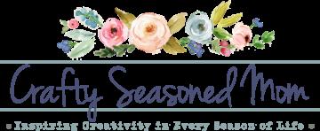 Crafty Seasoned Mom logo