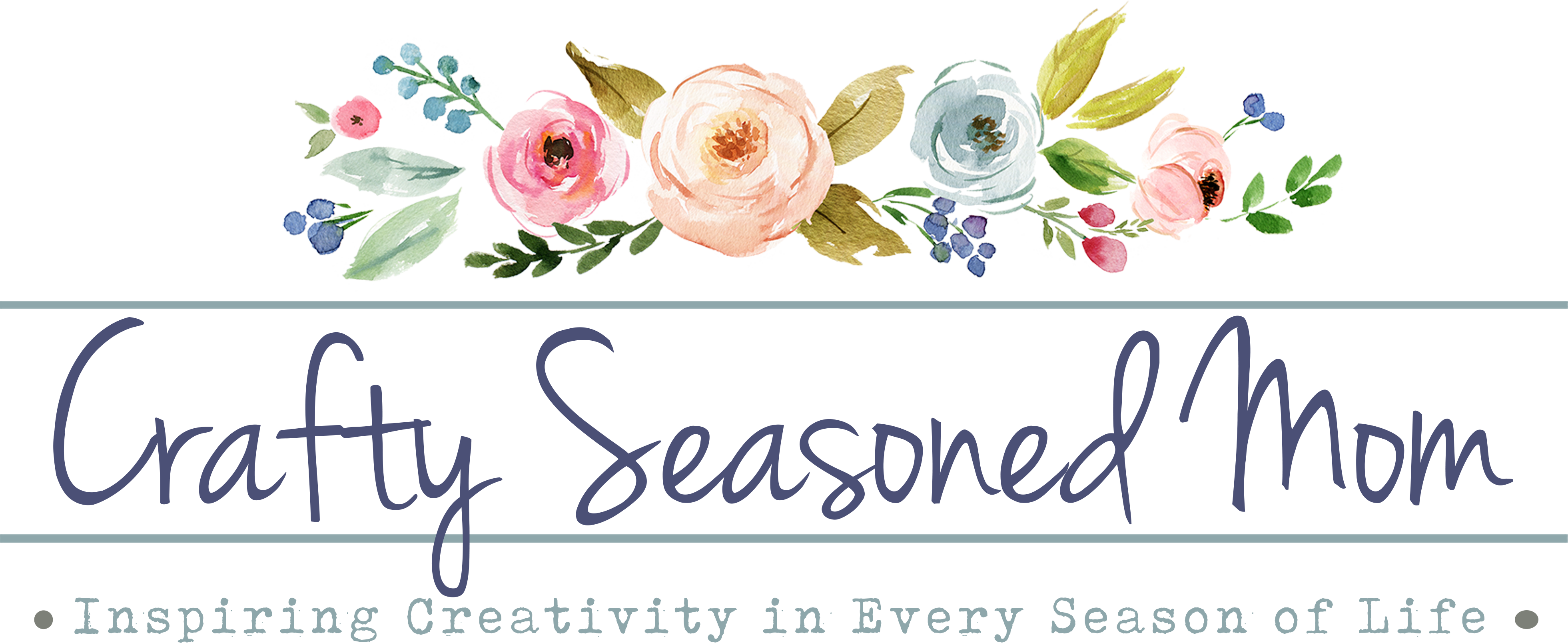 Crafty Seasoned Mom logo